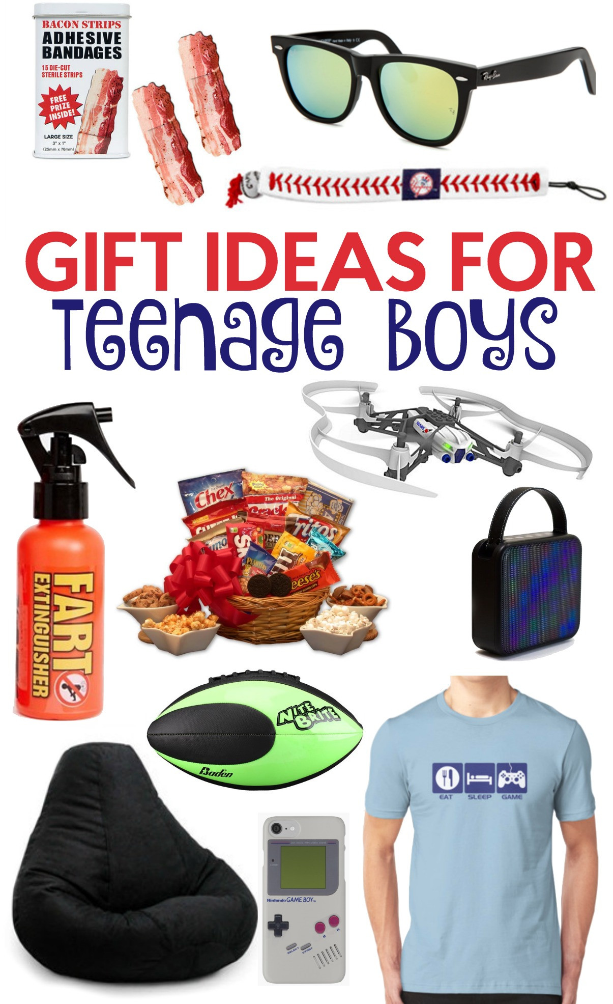 Gift Ideas Teen Boys  The Perfect Gift Ideas For Teen Boys A Little Craft In