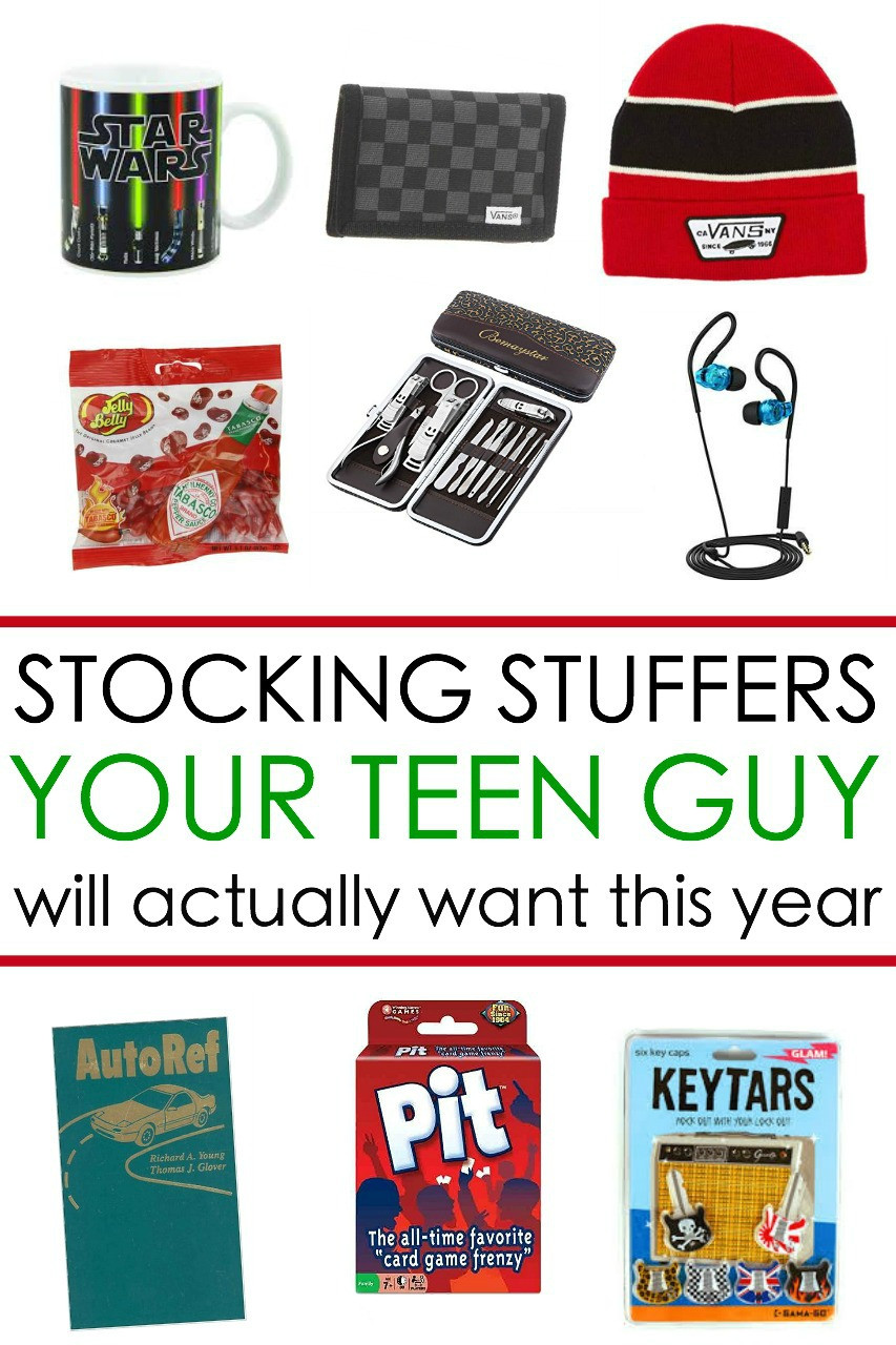 Gift Ideas Teen Boys  65 Awesome Stocking Stuffers for a Teen Guy Teen Boy Gift