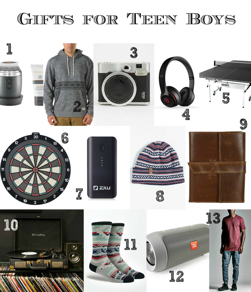 Gift Ideas Teen Boys  Last Minute Gift Ideas for Teen Boys and Men that don t