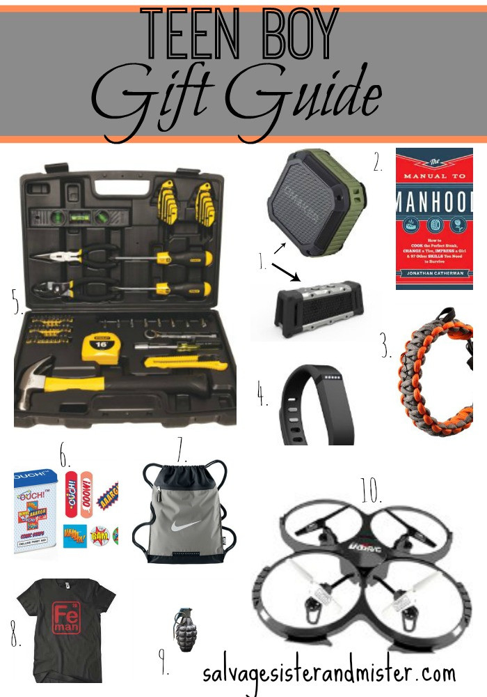 Gift Ideas Teen Boys  Teen Boy Gift Guide Salvage Sister and Mister