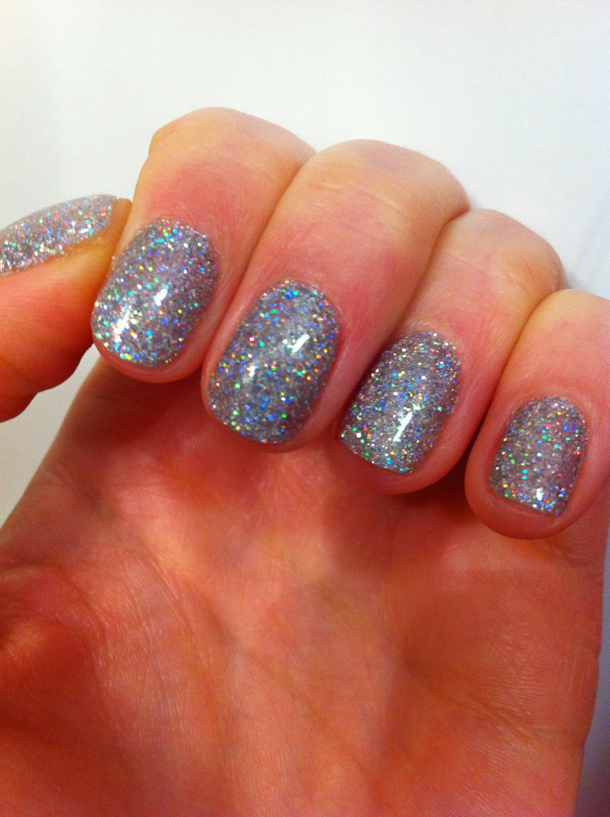 Glitter Dip Nails  Gel Nails Dipped In Glitter Nail Ftempo