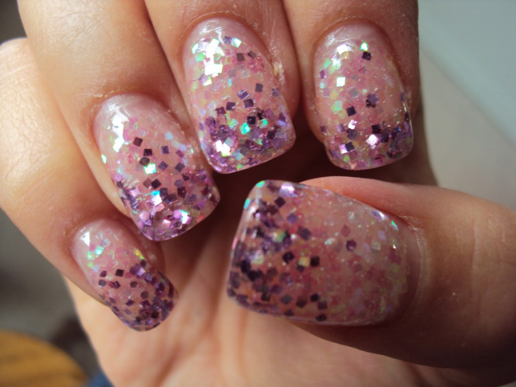 Glitter Gel Nails Pictures  Sparkle with Glitter Nails
