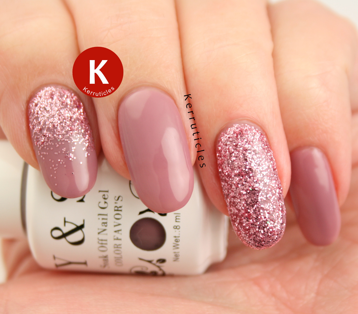 Glitter Gel Nails Pictures  Kerruticles