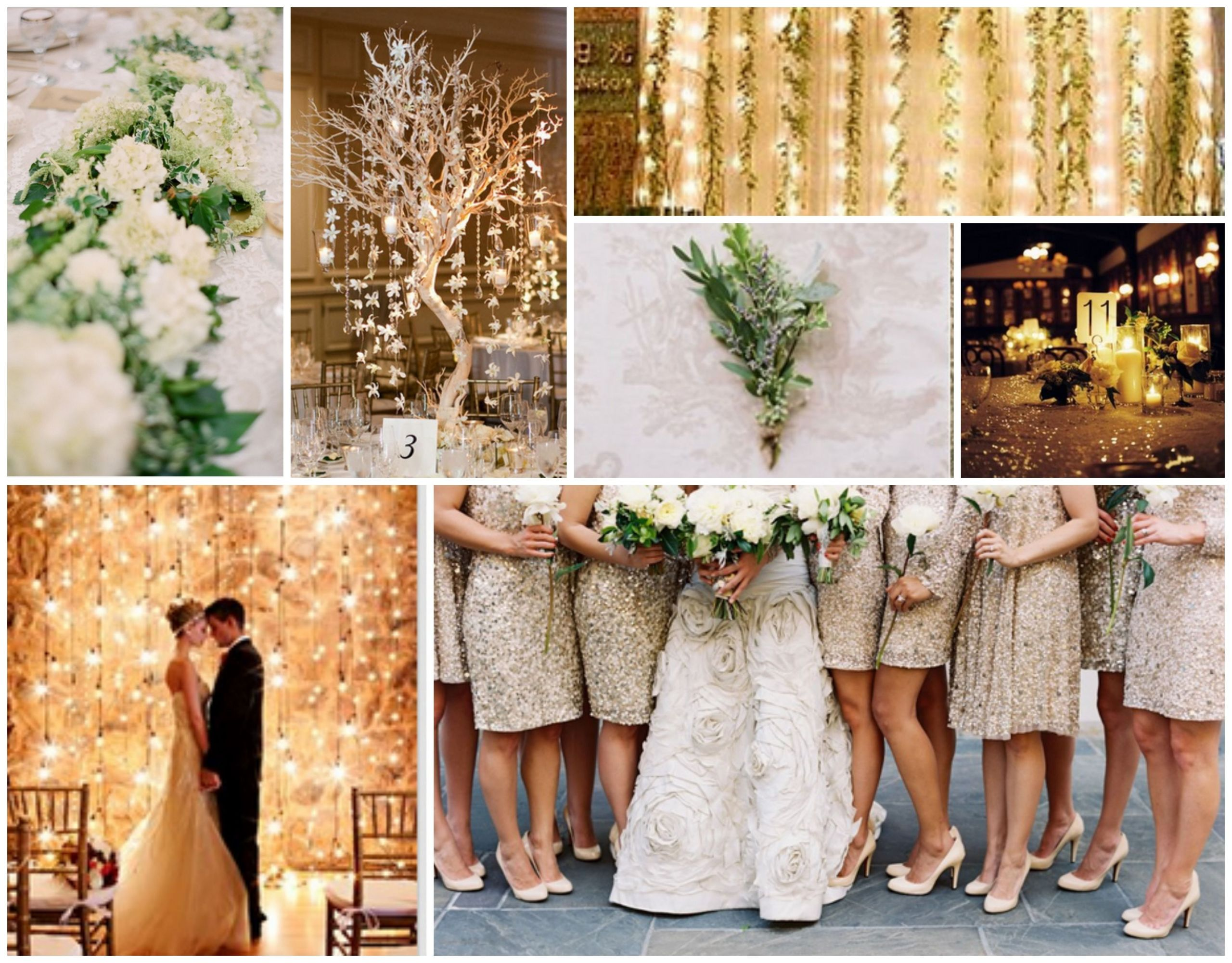 Gold Themed Wedding  Our Wedding theme eam gold green
