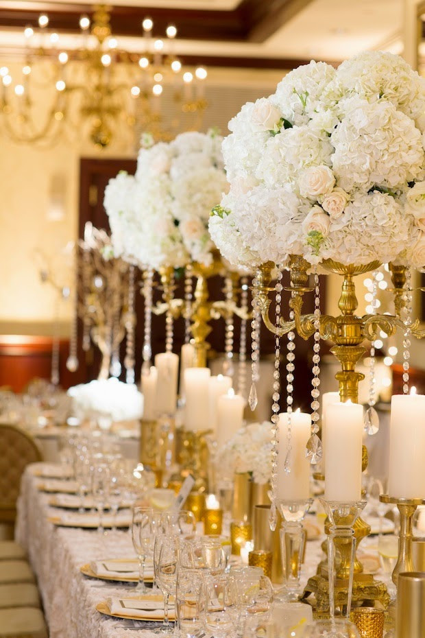 Gold Themed Wedding  A Silver and Gold Theme Wedding