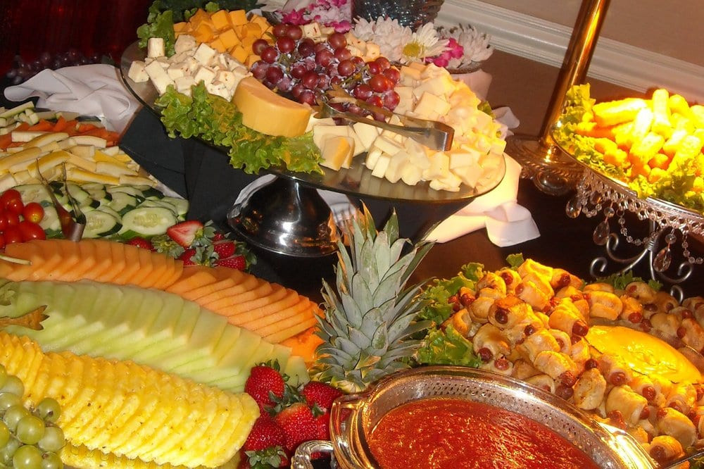 Graduation Party Appetizer Ideas  Appetizer Display in Maggio s Ballroom for Ed s
