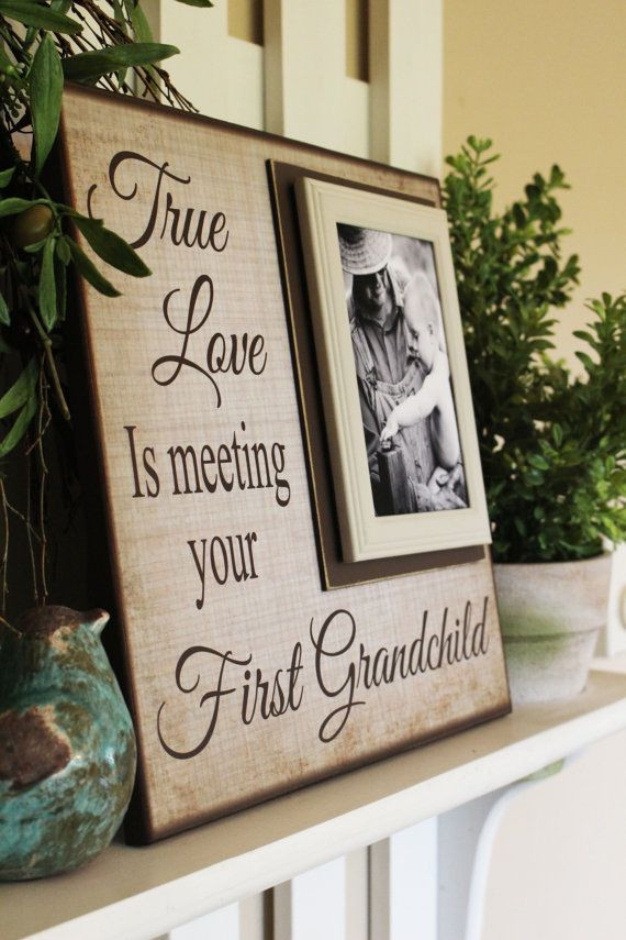 Grandpa Gift Ideas From Baby  The 25 best New grandparent ts ideas on Pinterest