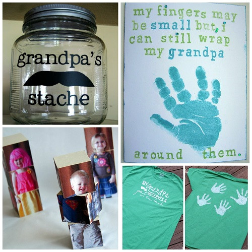 Grandpa Gift Ideas From Baby  Creative Grandparent s Day Gifts to Make Crafty Morning