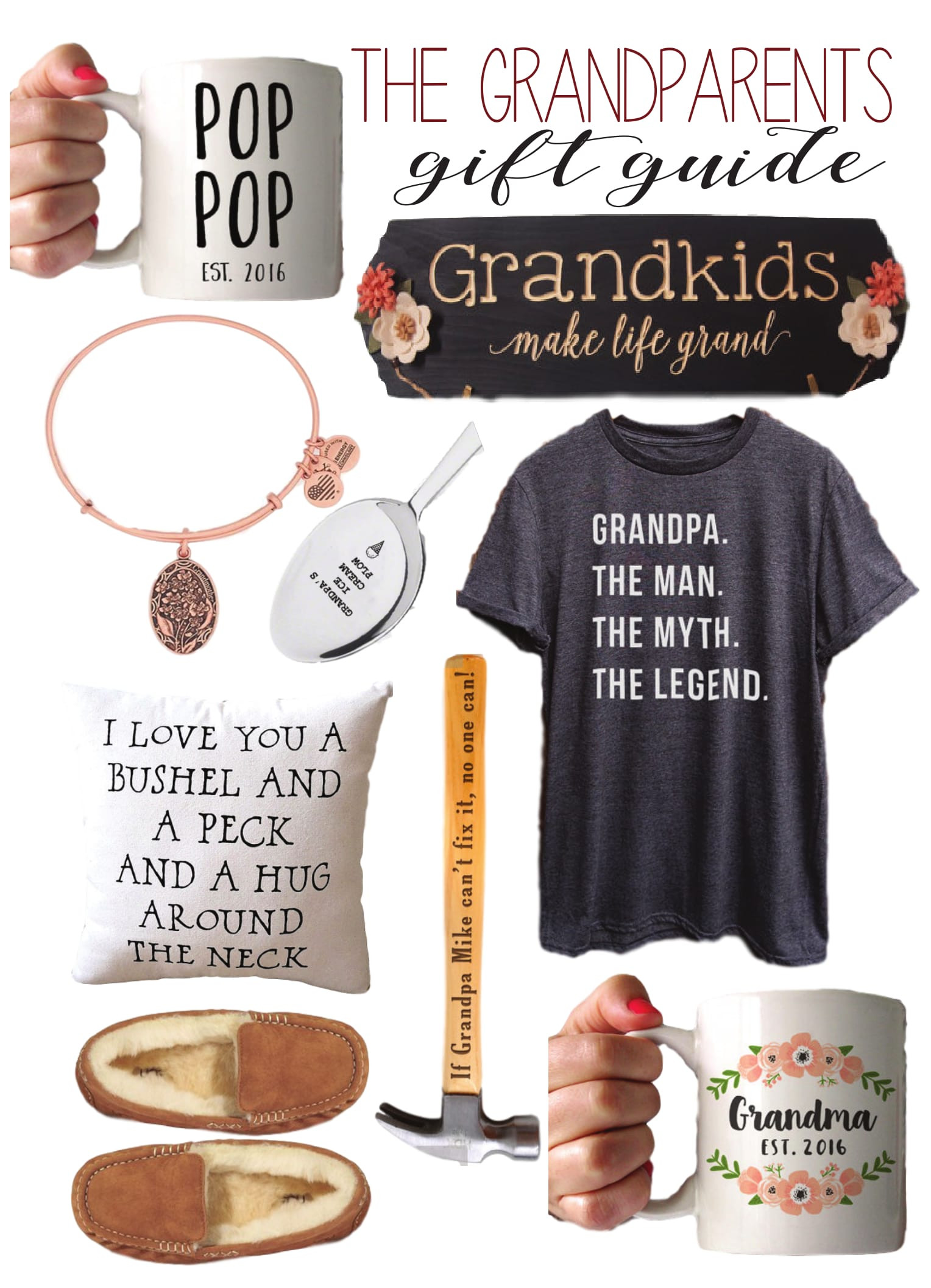 Grandpa Gift Ideas From Baby  The Best Gifts for Grandparents