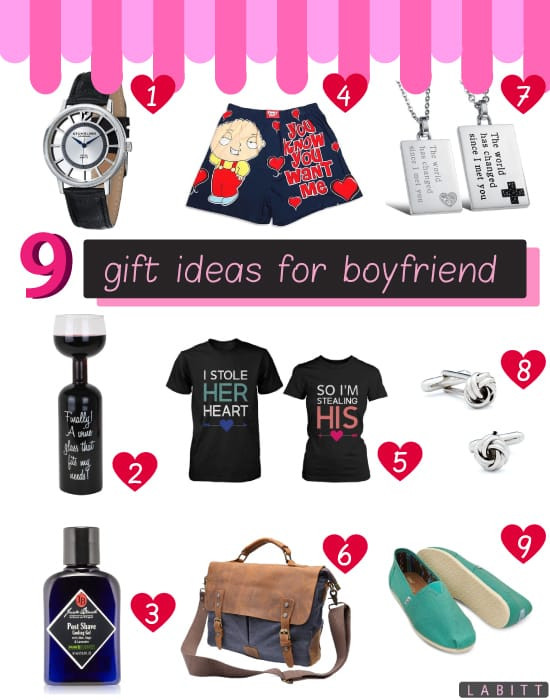 Great Gift Ideas For Boyfriend  9 Great Gifts for Your Boyfriend He ll Love