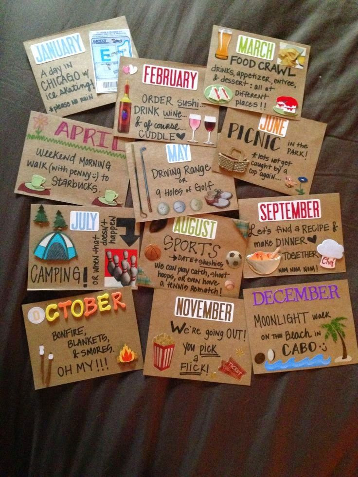 Great Gift Ideas For Boyfriend  Becky and Brittany DIY Valentines Day Gift Ideas for Him