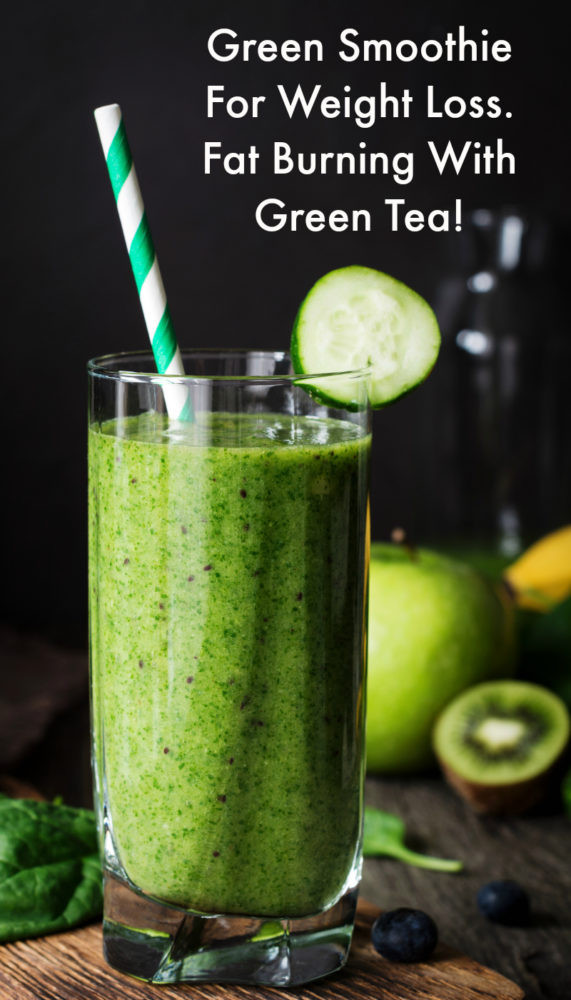 Green Tea Smoothies For Weight Loss  Fat Burning Green Tea and Ve able Smoothie All