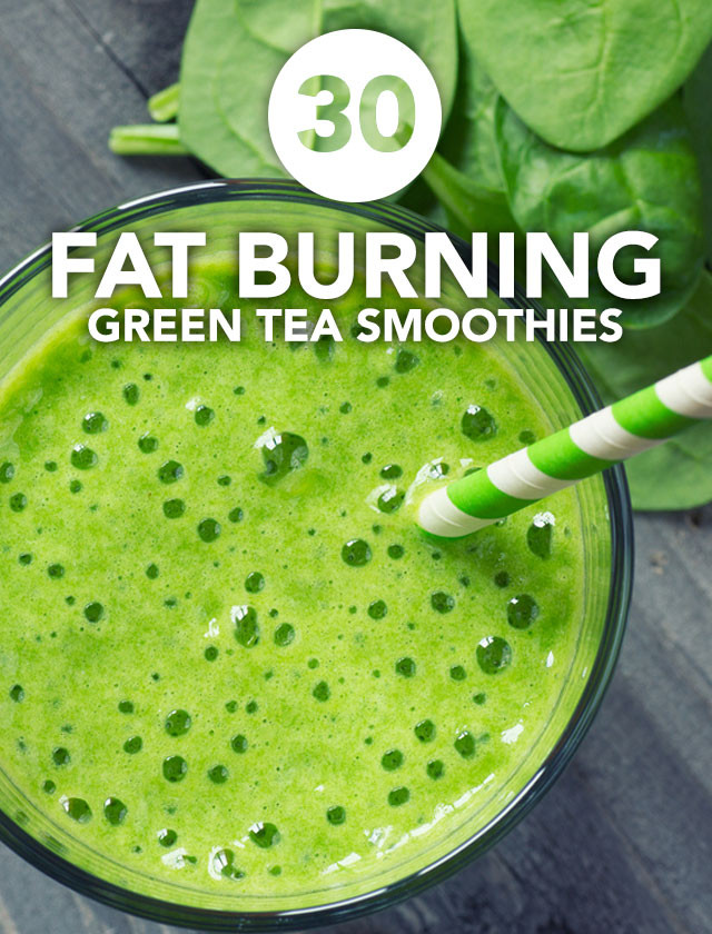 Green Tea Smoothies For Weight Loss  30 Fat Burning Green Tea Smoothies Detox DIY