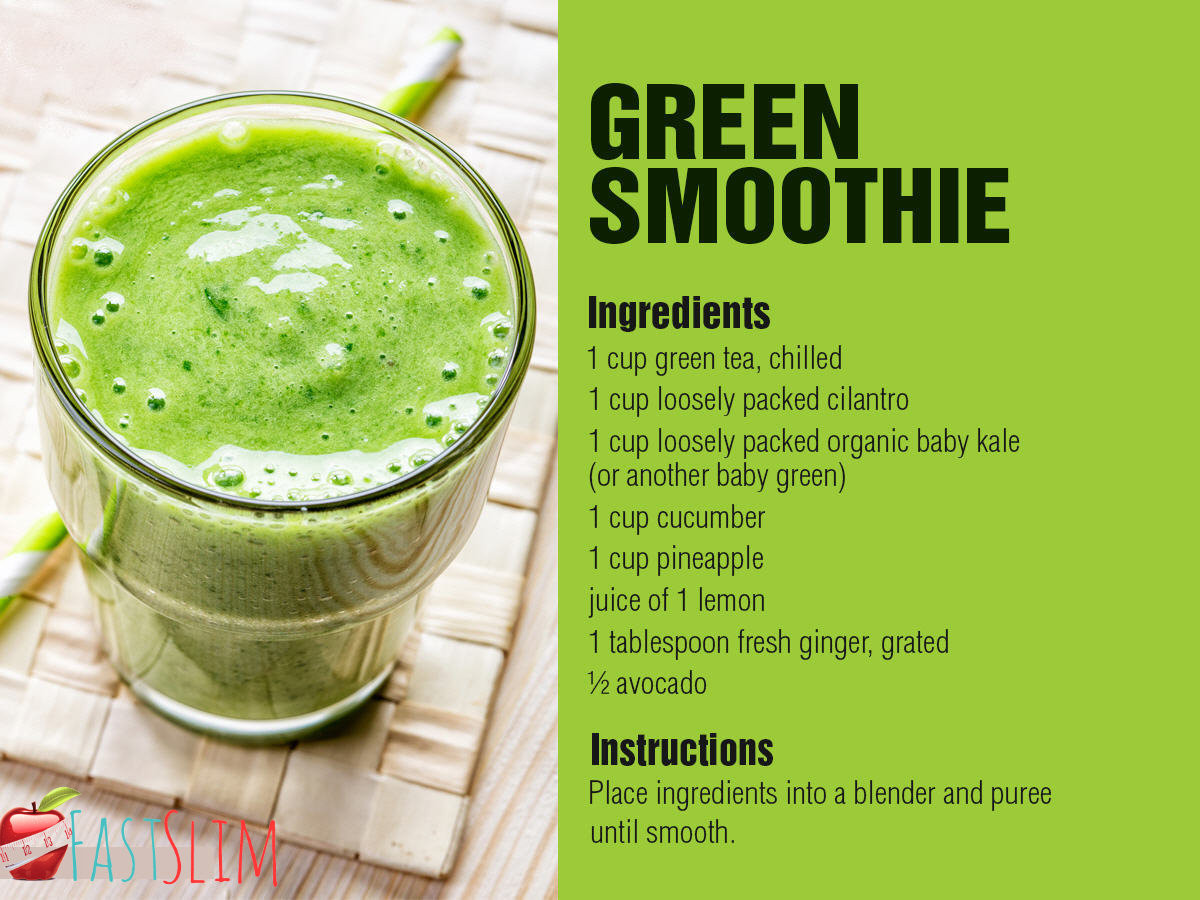 Green Tea Smoothies For Weight Loss  Slimming With Green Tea Fastslim Weight Loss Plan