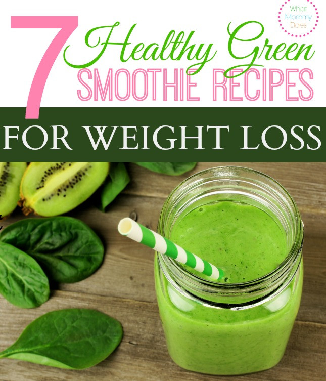 Green Tea Smoothies For Weight Loss  7 Healthy Green Smoothie Recipes for Weight Loss