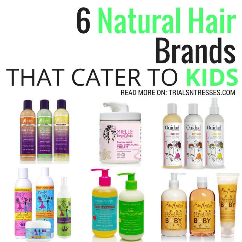 Hair Care For Kids  6 Natural Hair Brands That Cater To Kids Trials N Tresses