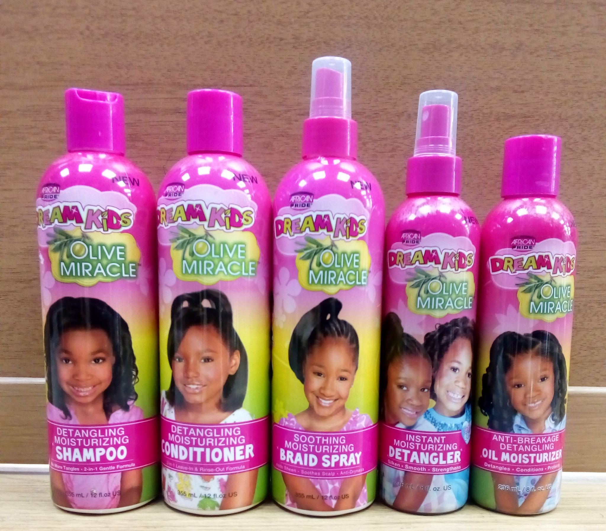 Hair Care For Kids  African Pride Dream Kids Hair Products