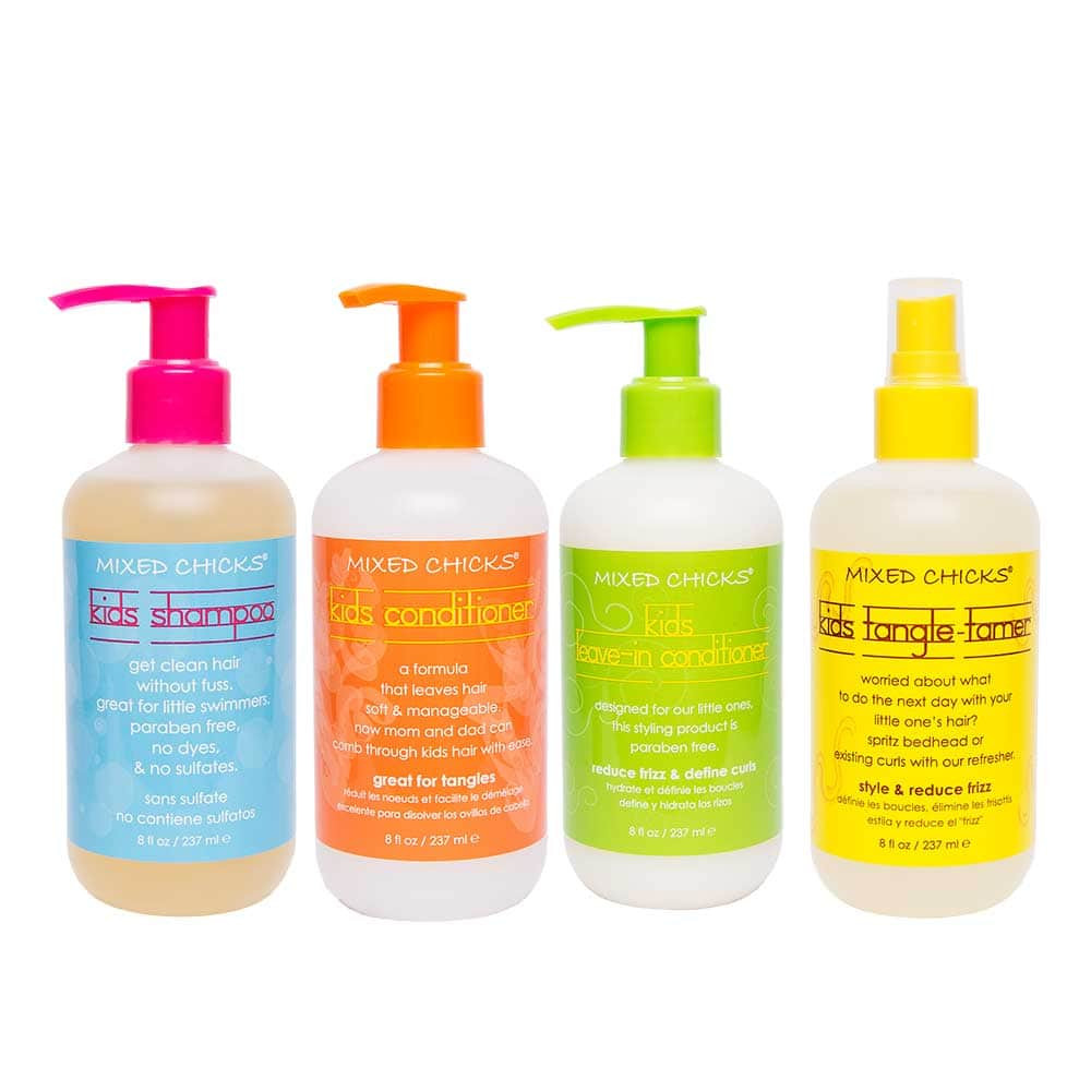 Hair Care For Kids  Kid s Quad Pack Kids Haircare Mixed Chicks