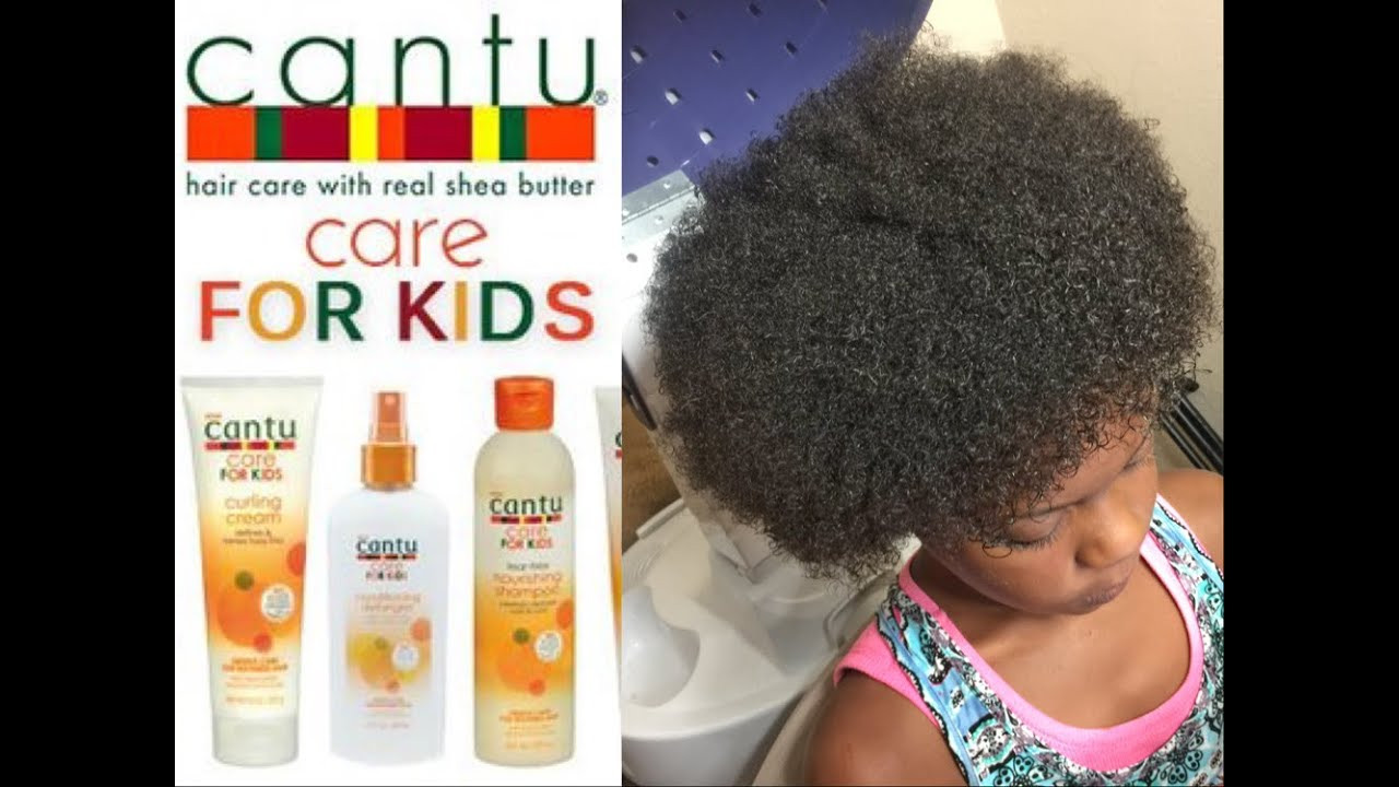 Hair Care For Kids  Cantu For Kids Product Review