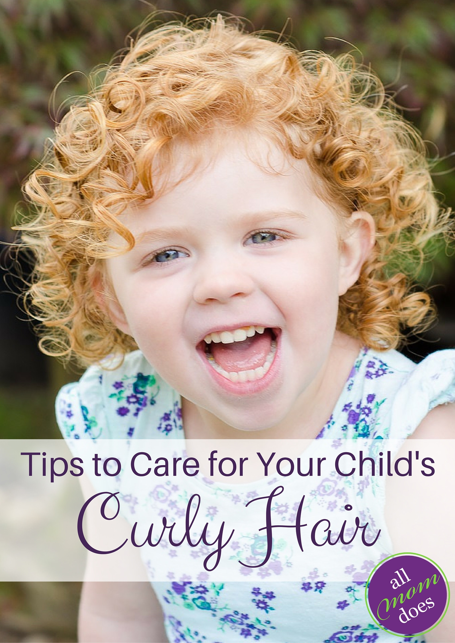 Hair Care For Kids  Tips to Care for Your Child's Curly Hair