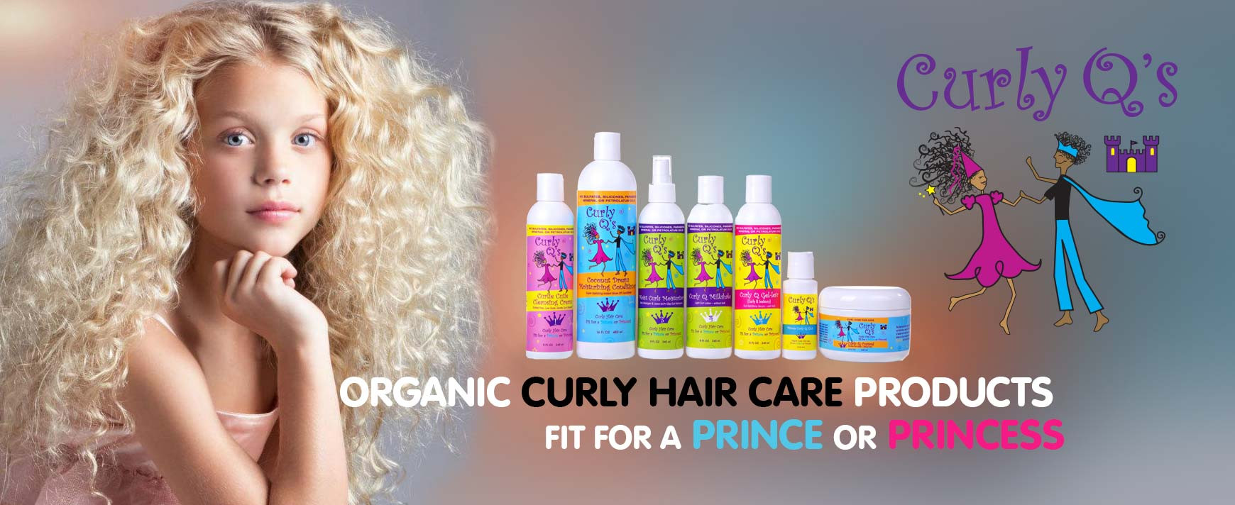 Hair Care For Kids  Caring For Curly Kids Hair This Fall With CURLS Curly Q's