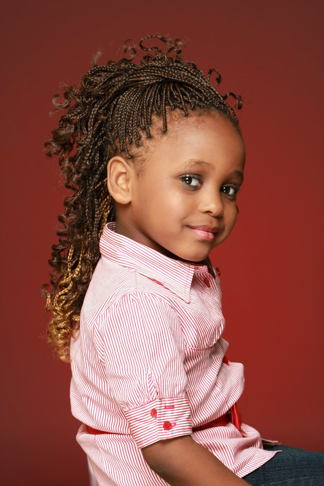 Hair Styles For Children  20 Hairstyles for Kids with MagMent