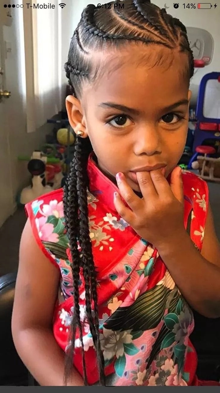 Hair Styles For Children  Top 25 Cutest Kids Hairstyles for Girls in 2020 Tuko