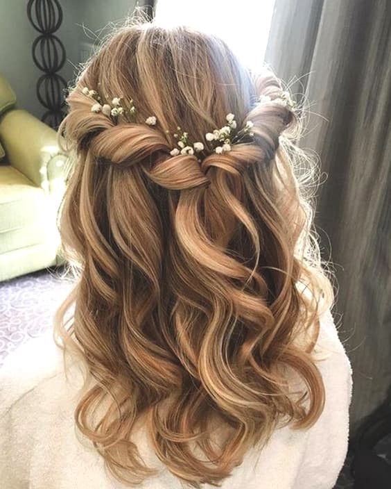 Hairstyles For Shoulder Length Hair For Wedding  72 Romantic Wedding Hairstyle Trends in 2019