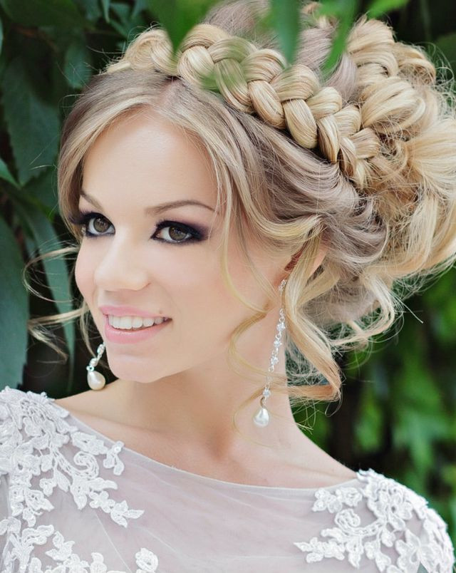 Hairstyles For Shoulder Length Hair For Wedding  Wedding Hairstyle for Medium Hair