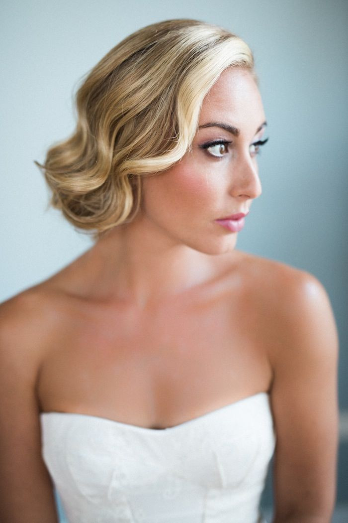 Hairstyles For Shoulder Length Hair For Wedding  Wedding Hairstyles for Medium Length Hair MODwedding