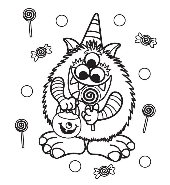 Halloween Coloring Sheets For Kids  FREE Halloween Coloring Pages for Adults & Kids