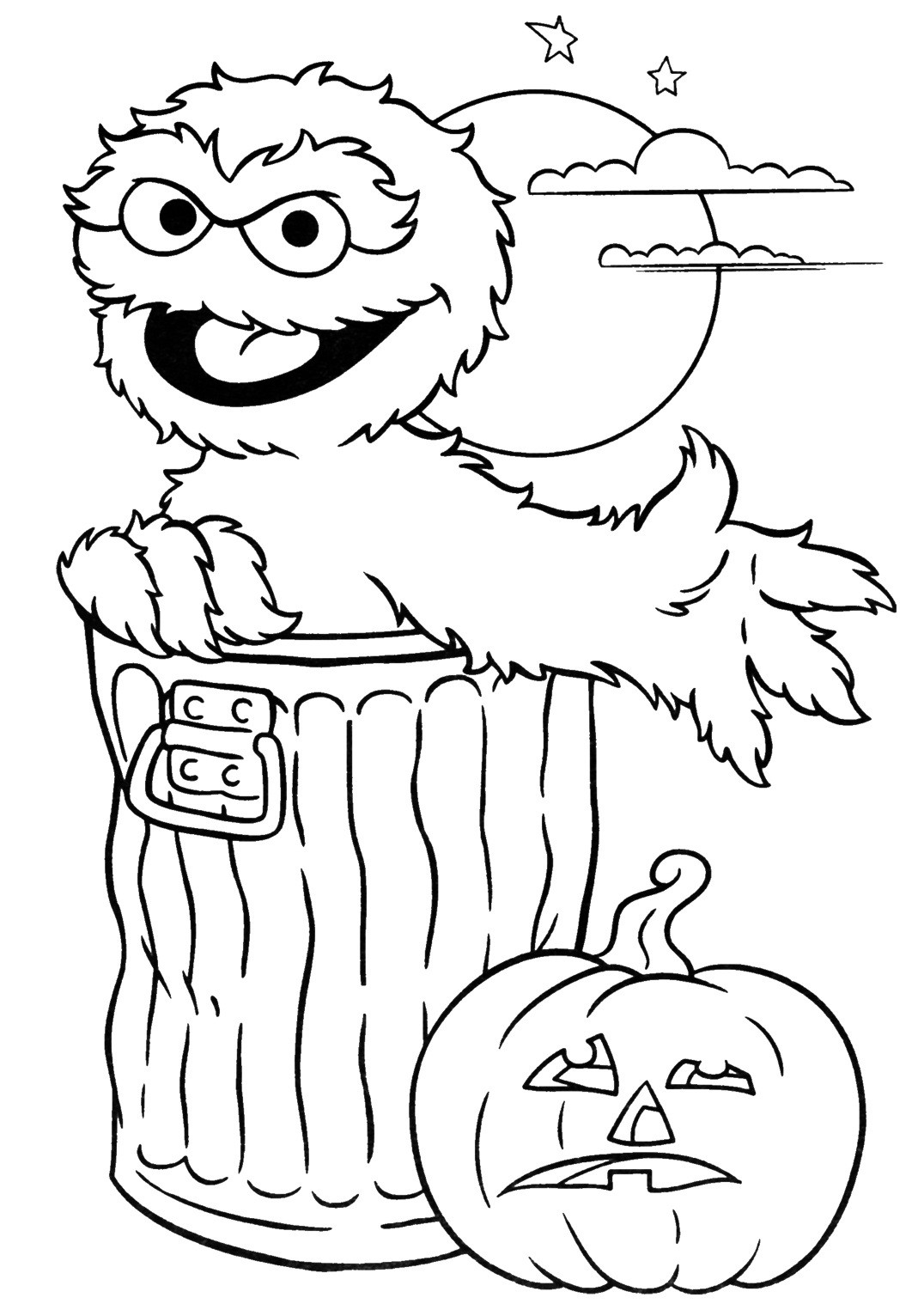 Halloween Coloring Sheets For Kids  24 Free Halloween Coloring Pages for Kids Honey Lime