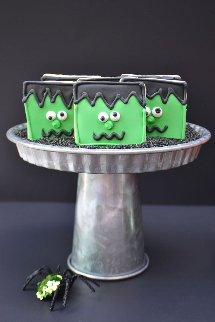 Halloween Cookies For Sale  Losing our heads for these Frankenstein Sugar Cookies for