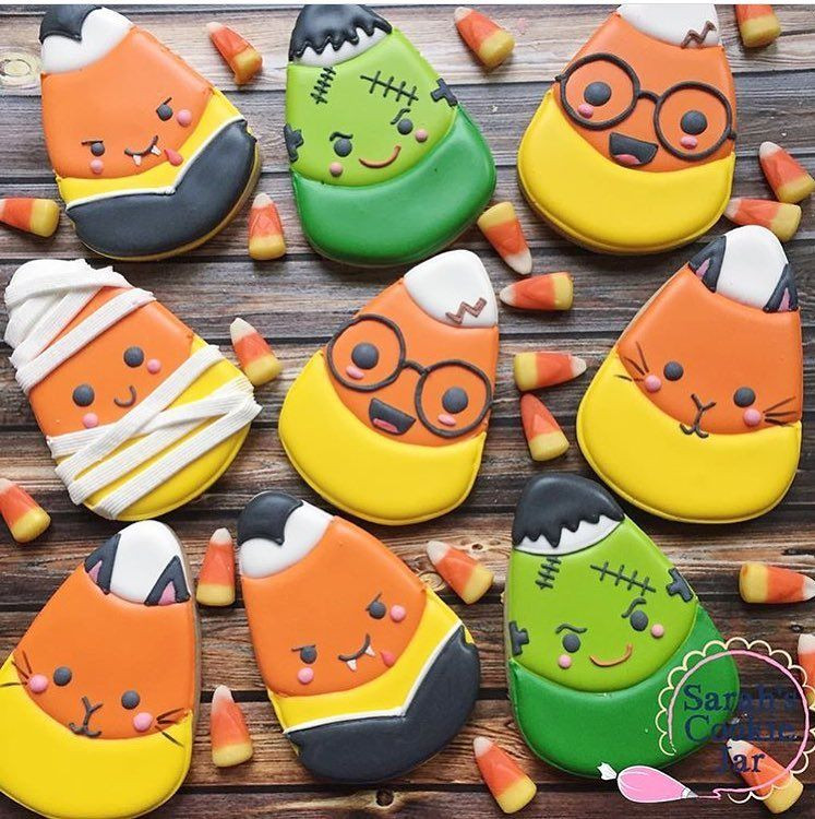 Halloween Cookies For Sale  Trying to decide what to do for the Go Bo Bake sale this