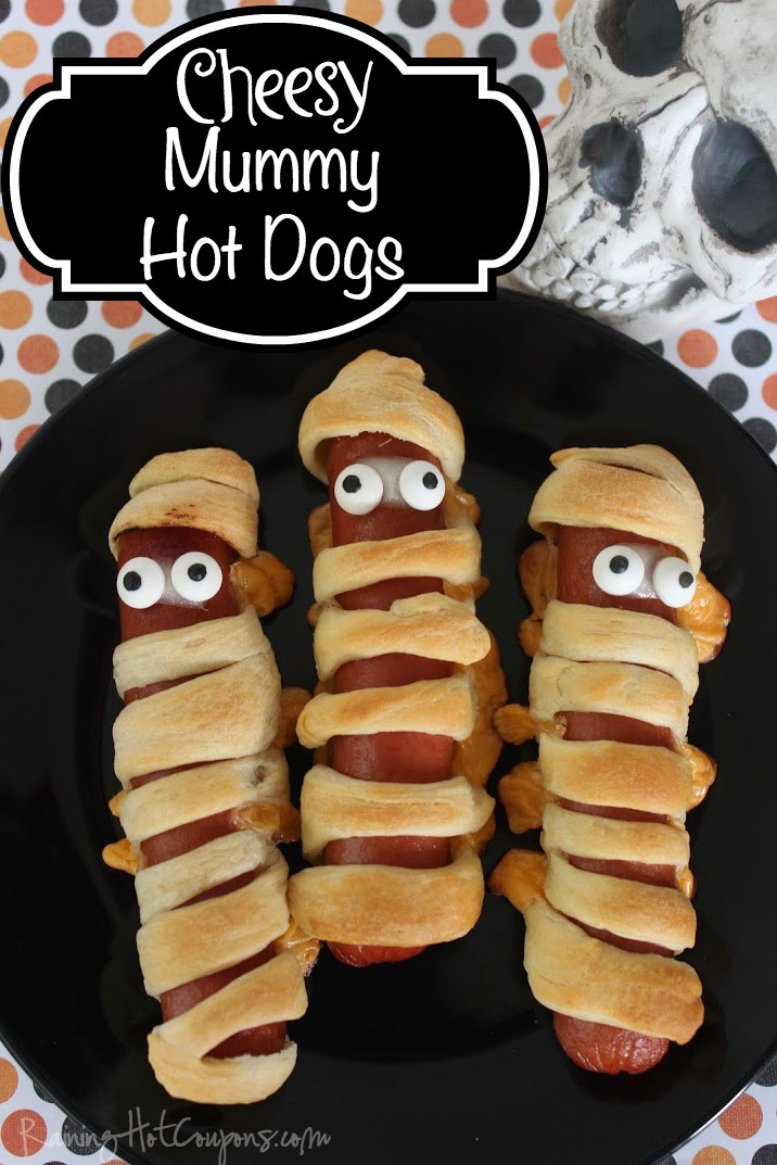 Halloween Hot Dogs  Spooky Halloween Treats and Appetizers — Today s Every Mom