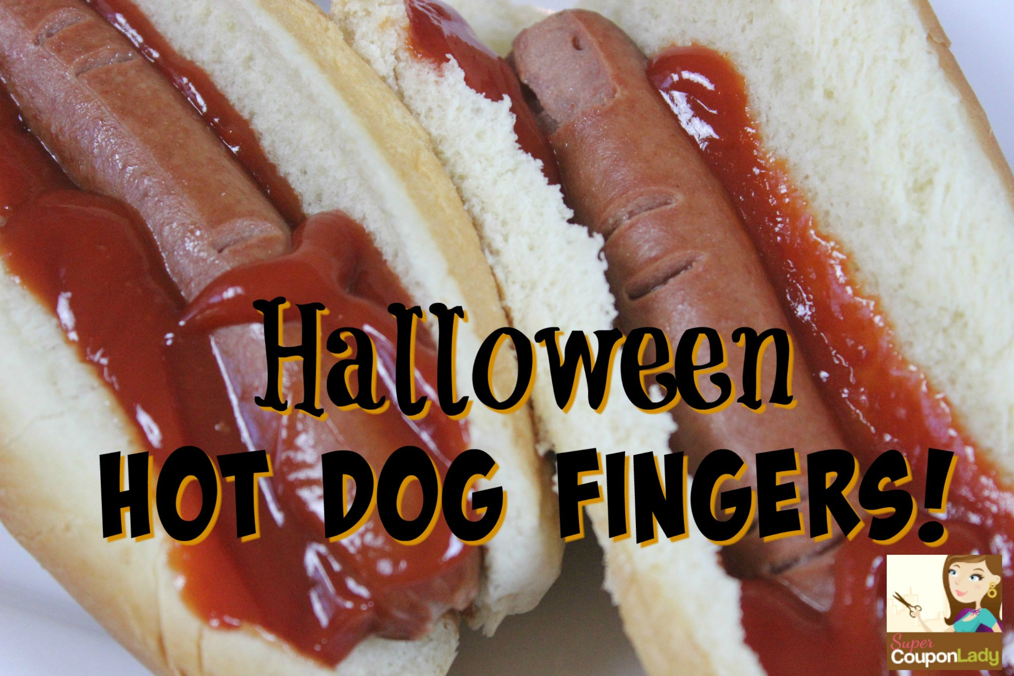 Halloween Hot Dogs  Halloween Hot Dog Fingers Super Coupon Lady