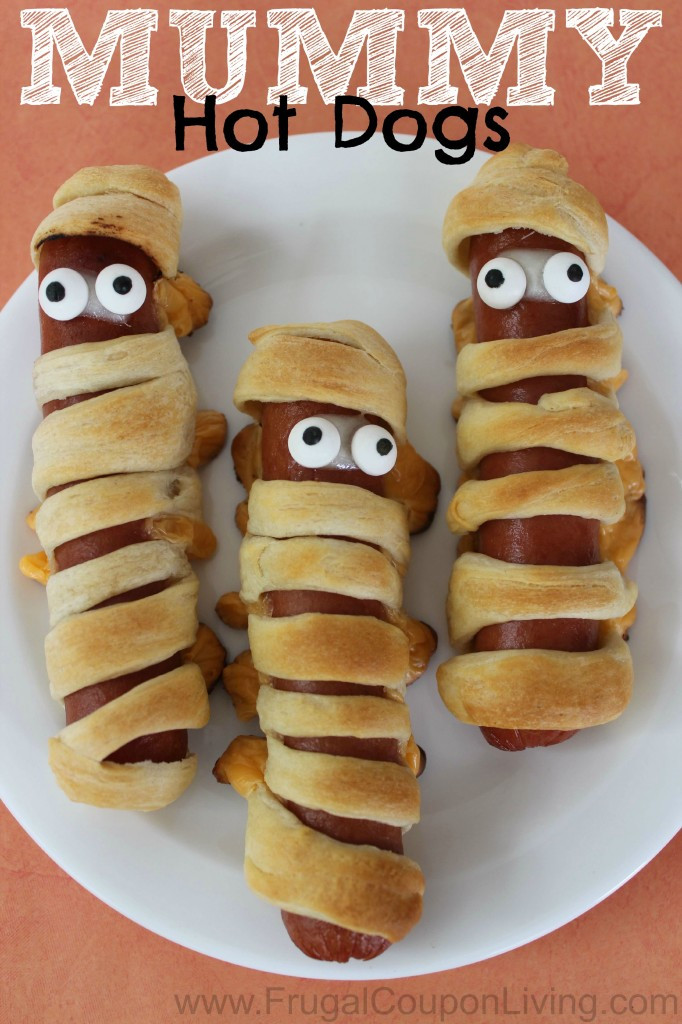 Halloween Hot Dogs  14 Great Monster Recipes for Halloween CandyStore