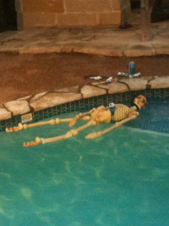 Halloween Pool Party Ideas  11 best Halloween Ideas for Pools images on Pinterest