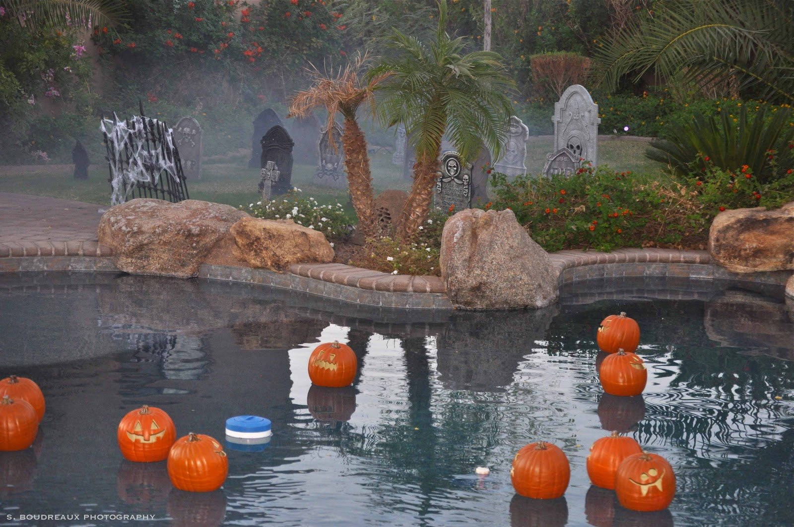 Halloween Pool Party Ideas  How to Decorate Your Swimming Pool