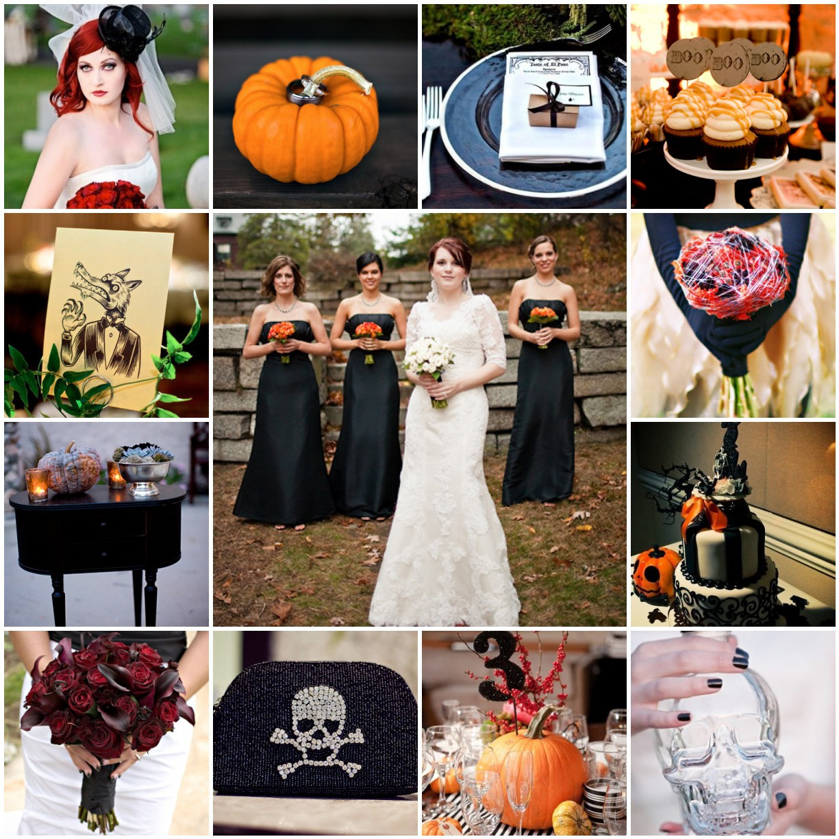 Halloween Themed Weddings  Spooky Halloween Wedding Sirmione Wedding