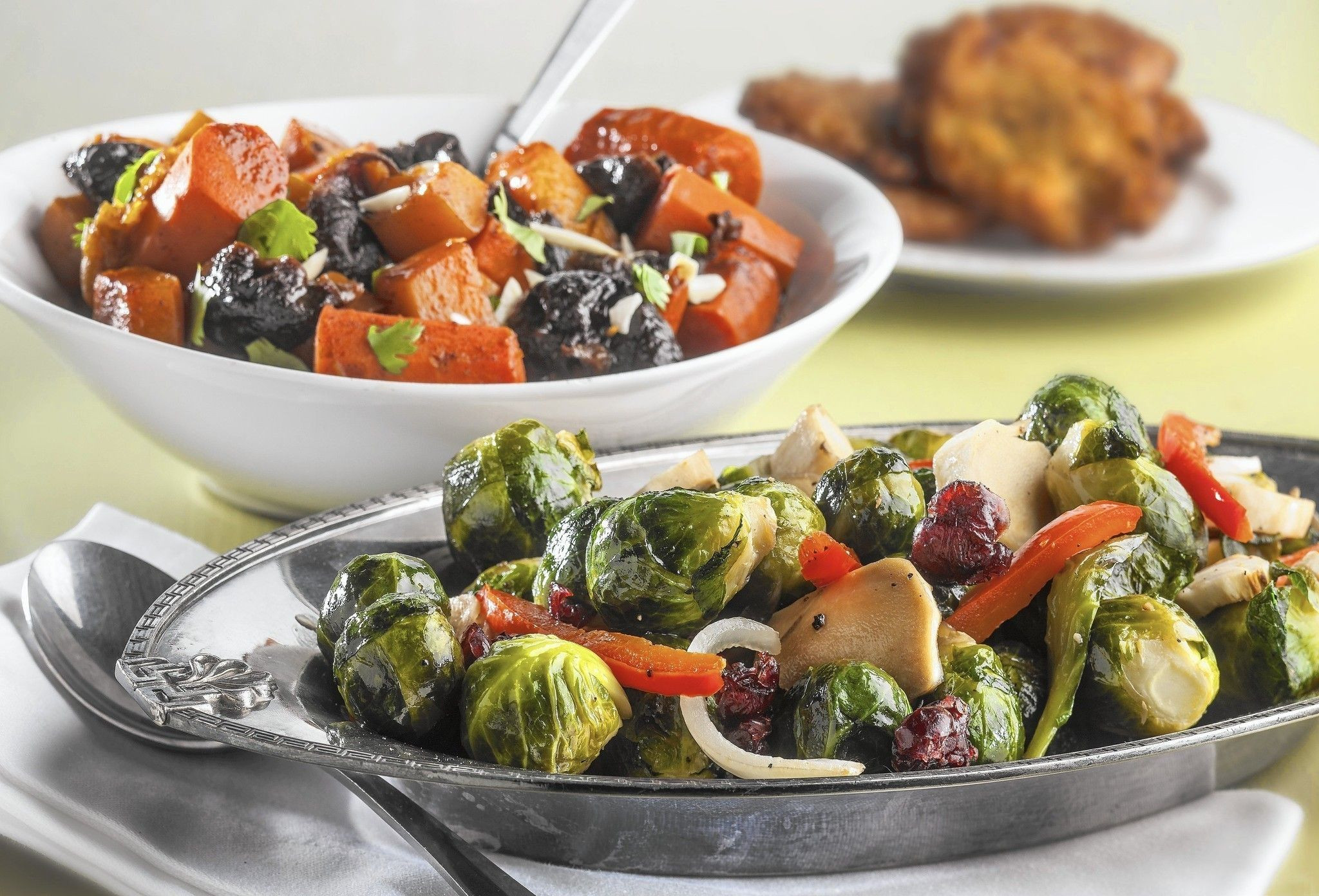 Hanukkah Side Dishes  Hanukkah side dishes to lighten the meal