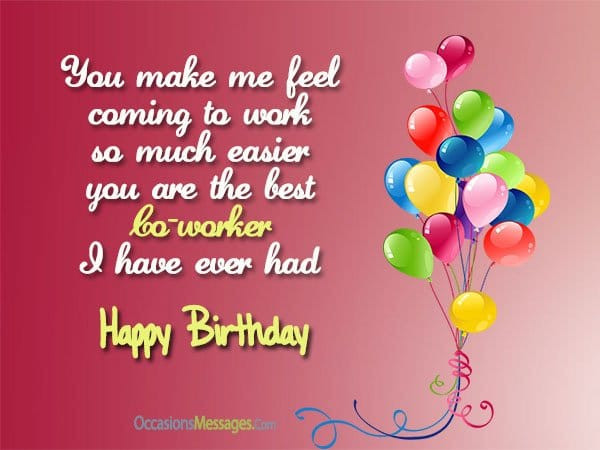 Happy Birthday Wishes To A Coworker  Top 100 Birthday Wishes for Coworker Occasions Messages