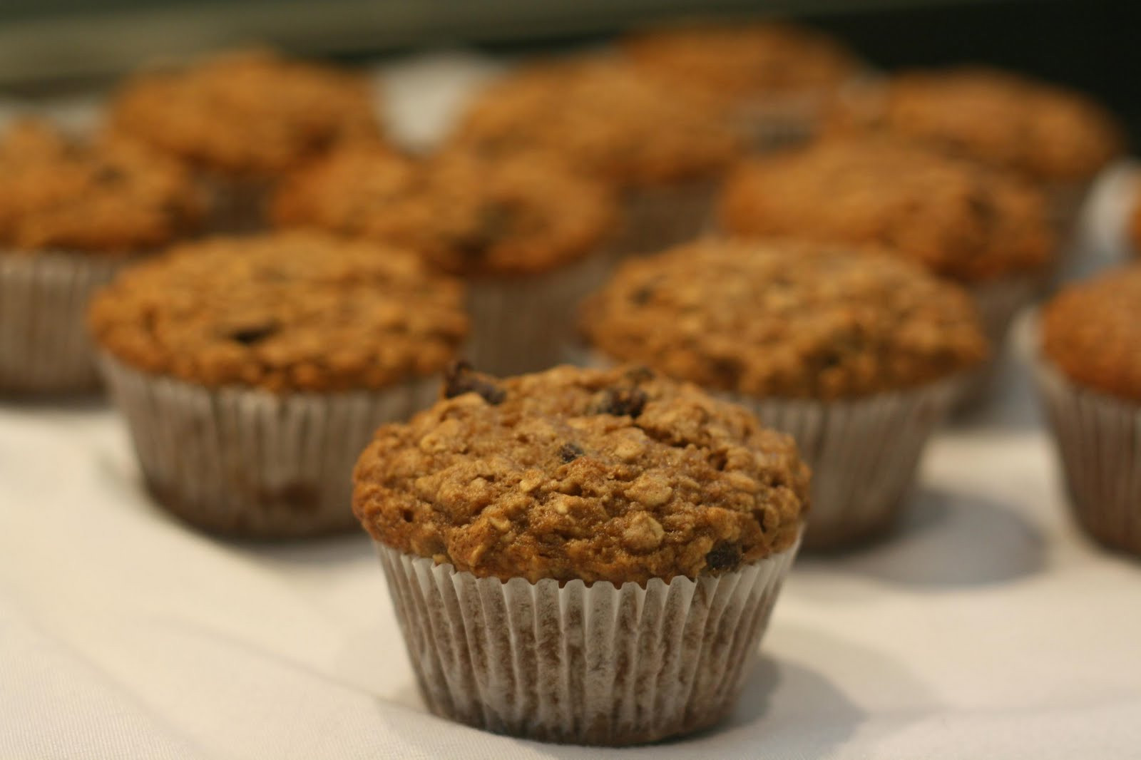 Healthy Banana Muffins With Applesauce  So Tasty So Yummy Banana Applesauce Oat Muffins