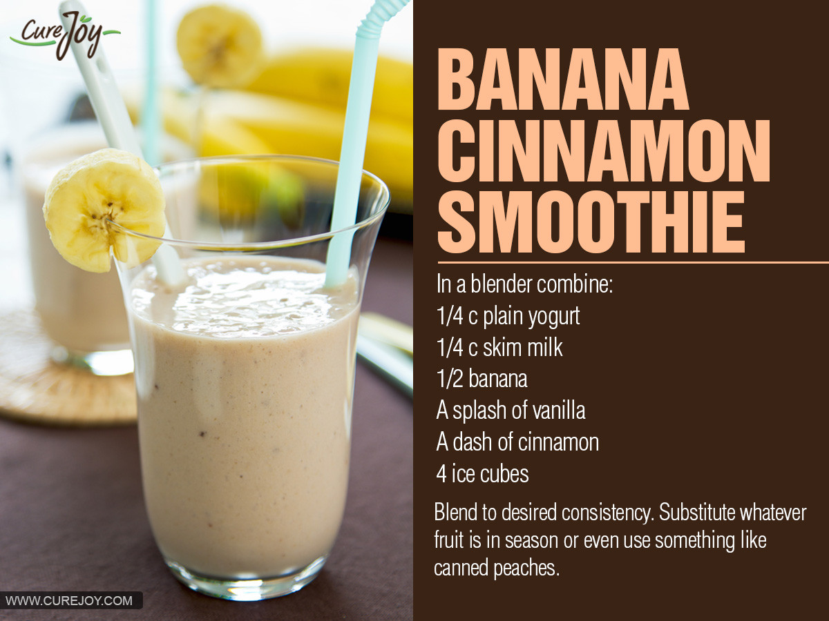 Healthy Banana Smoothie Recipes For Weight Loss  healthy banana smoothie recipes for weight loss