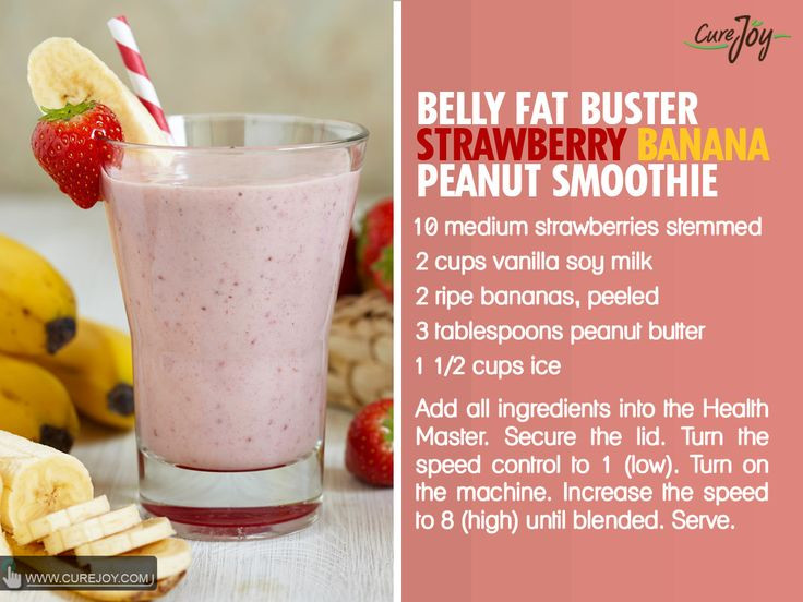 Healthy Banana Smoothie Recipes For Weight Loss  Pin on Healthy Smoothies & Shakes
