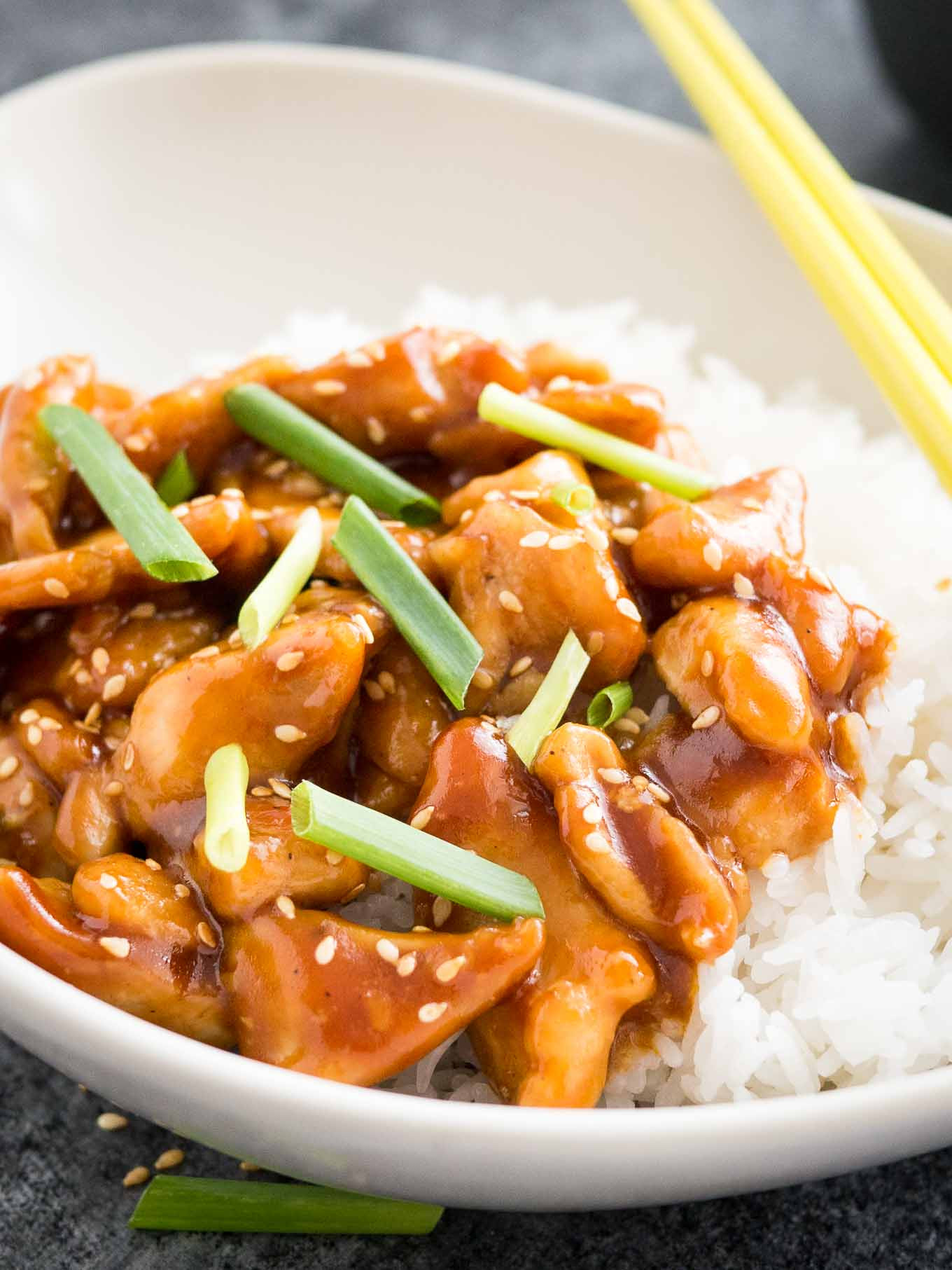 Healthy Chinese Chicken Recipes  Easy Healthy General Tso s Chicken Recipe