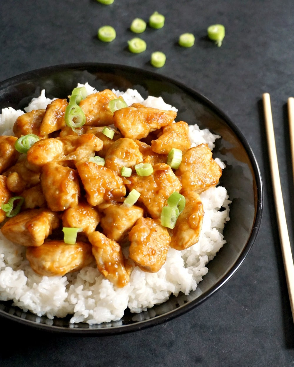 Healthy Chinese Chicken Recipes  Healthy Chinese Orange Chicken Recipe My Gorgeous Recipes