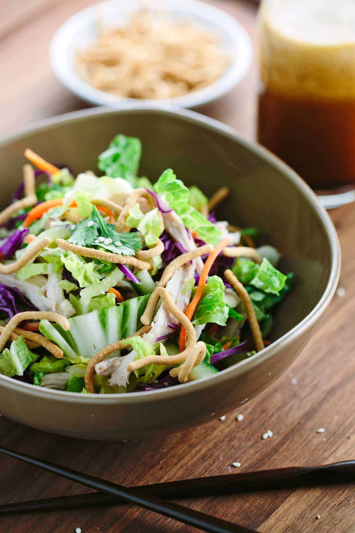 Healthy Chinese Chicken Recipes  Chinese Chicken Salad with Vinaigrette Dressing