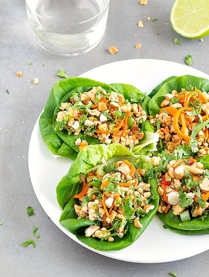 Healthy Chinese Chicken Recipes  Healthy Asian Chicken Lettuce Wraps As Easy As Apple Pie