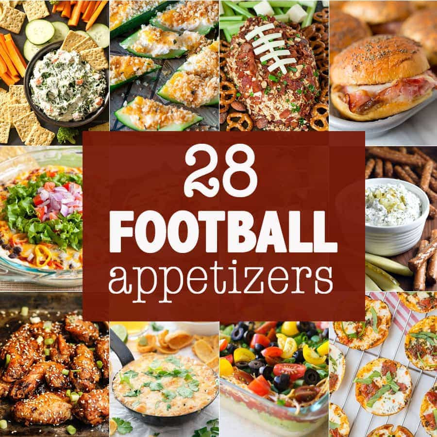 Healthy Football Appetizers  10 Football Appetizers The Cookie Rookie